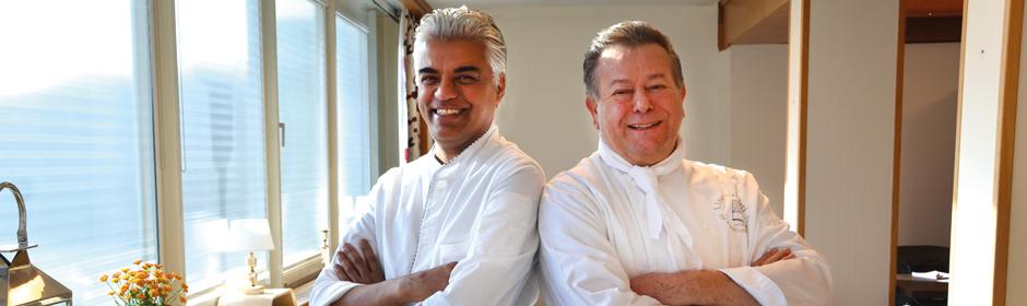 Lino und Mani kochen im Miramar